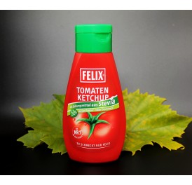 Kečup FELIX se sladidlem Stévie 435g