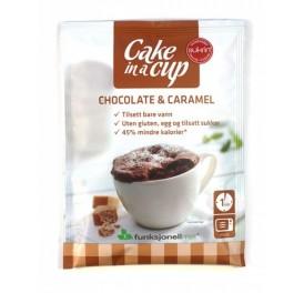 Čokoládovo-karamelový muffin v šálku(75g)