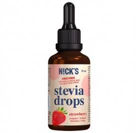 Jahodová Stévie Drops (50ml)
