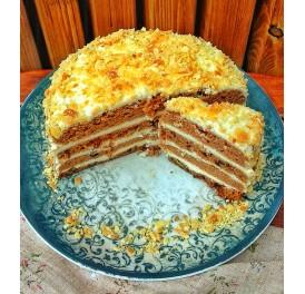 Směs bez cukru a lepku na pečení dortu (180g)